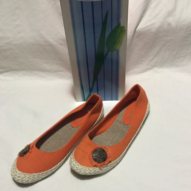 Casual Flats Orange