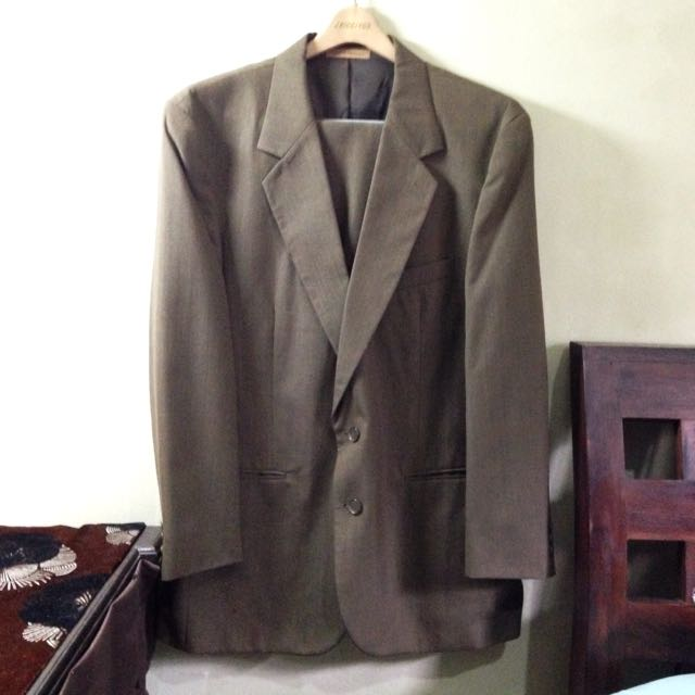 Cellini Pale Brown Suit