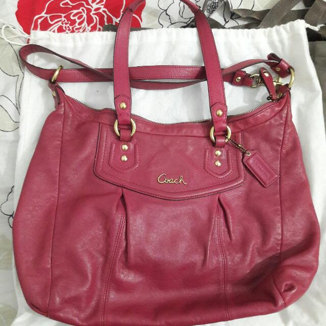 Coach Ashley Bag - Authentic