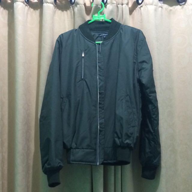 Cozy Market Bomber Jacket