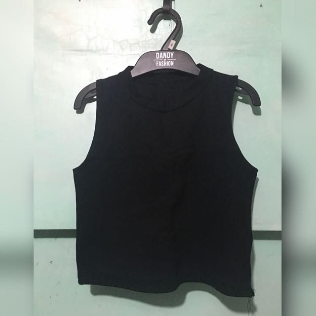 Cropped Top Sleevless