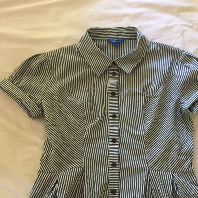 Cue Peplum Shirt