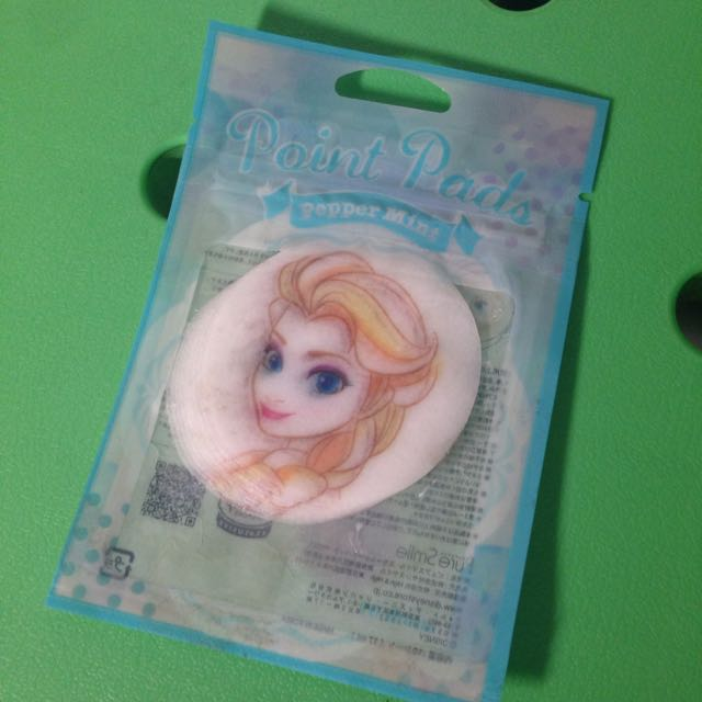 Disney 冰雪奇緣 圓圓面膜