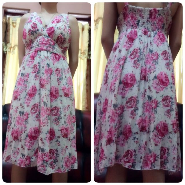 Dress Bunga...good Quality..
