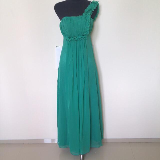 Dress Flowery Green