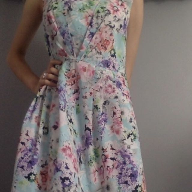Floral Vintage Tempt Dress