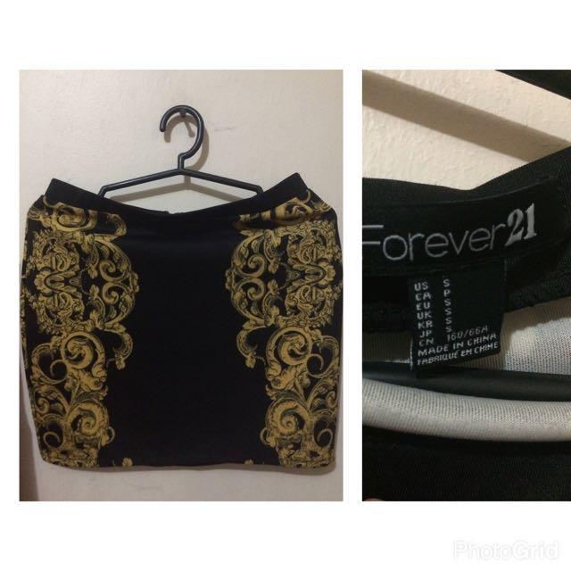 Forever21 Knee Length Skirt