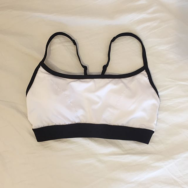 Forever 21 Sports Padded Crop Bra - XS