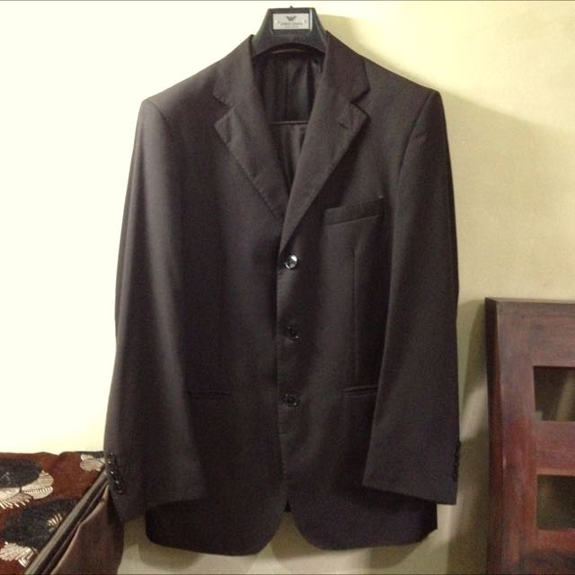 Giorgio Armani Dark Brown Suit (original)