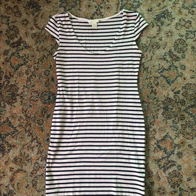 H & M Stripe Dress