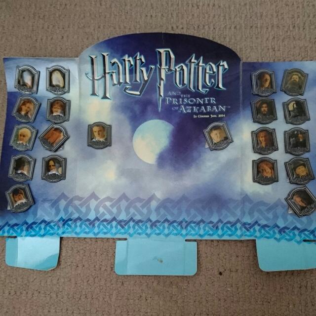 Harry Potter Prisoner Of Azkaban Collectible Pin Set