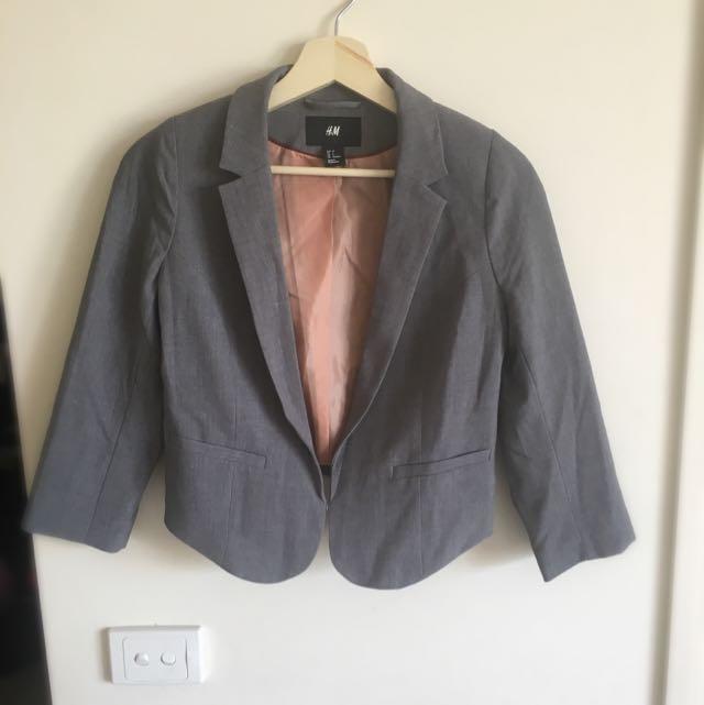 H&M Vintage Ladies Cropped Jacket
