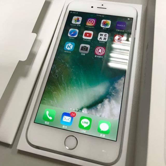 iPhone6plus銀色 16G