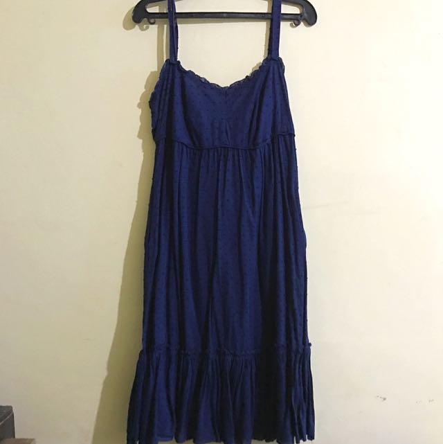 JCrew Spaghetti Strap Dress
