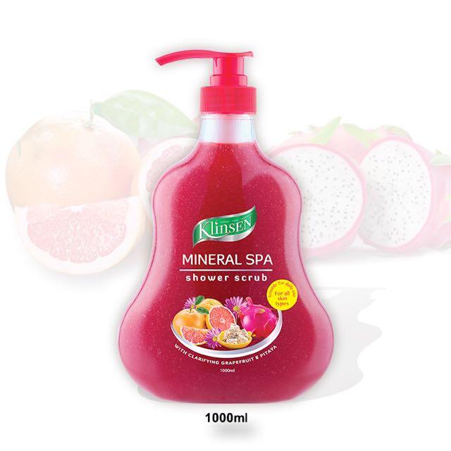 Klinsen Shower Scrub – Mineral Spa 1000ml