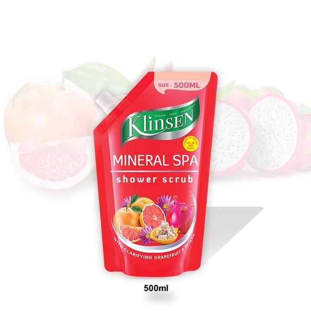 Klinsen Shower Scrub – Mineral Spa 500ml