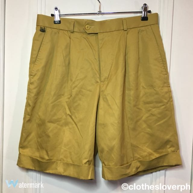 LACOSTE GOLF SHORTS