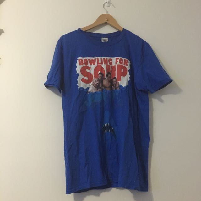 Large Women's Bowling For Soup Band Tee