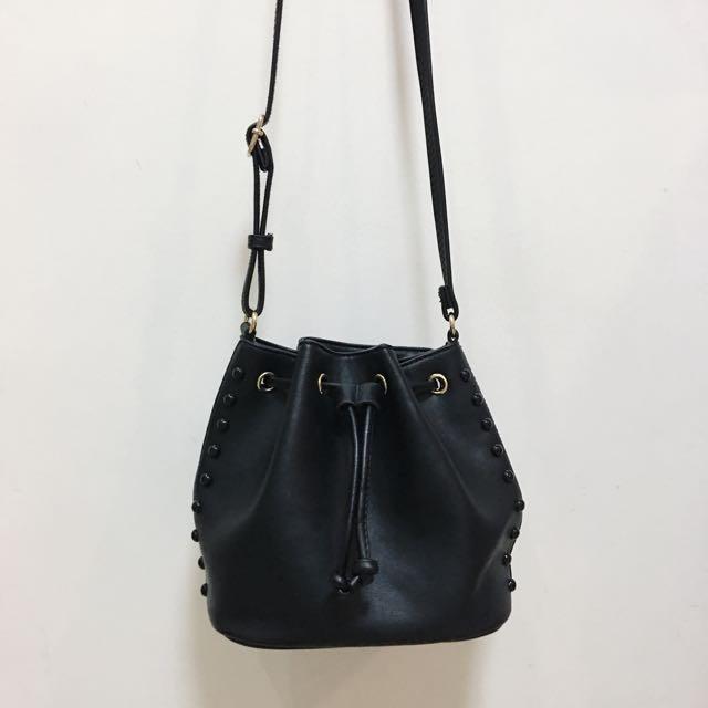 MINISO Leather Shoulder Bag
