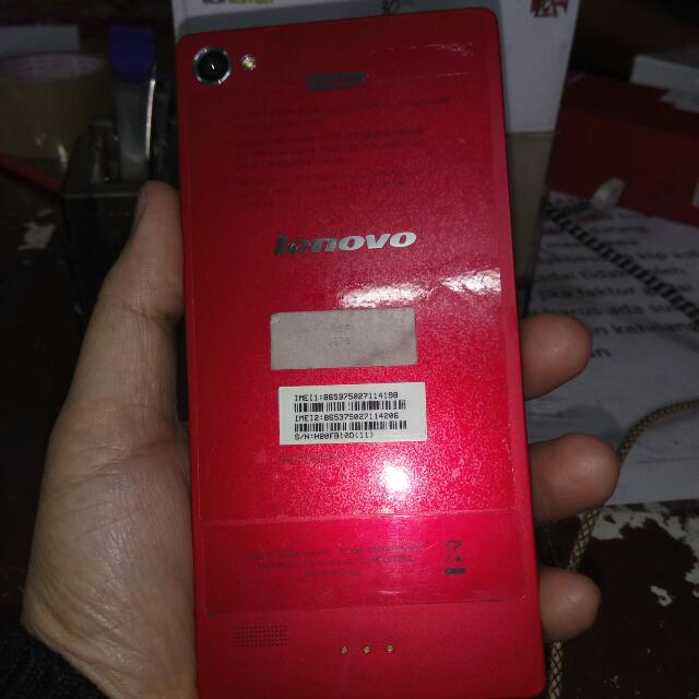 Lenovo (Vibe X2 -  RED COLOUR)