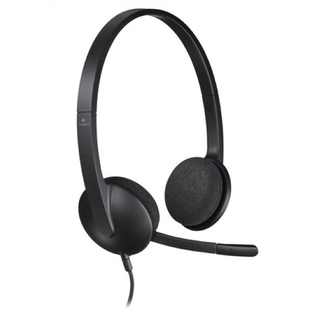 Logitech H340 Lightweight USB Headset with Noise-Cancelling Microphone - (SPK0856)
