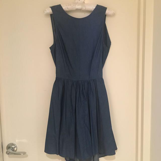 Luck & Trouble Denim Dress