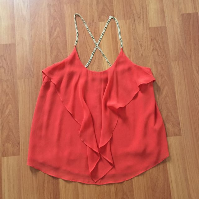Marciano Orange Top