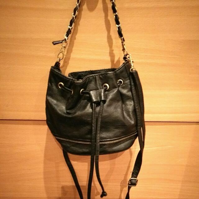 Mini Sling Bucket Bag