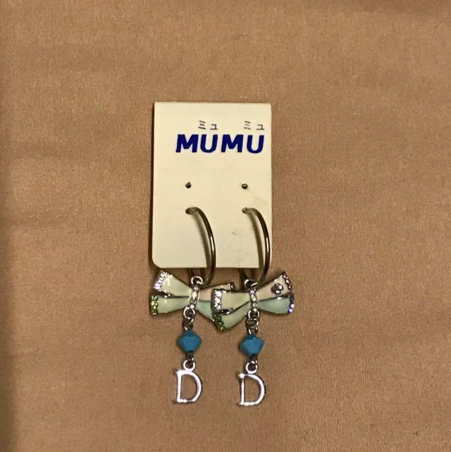 MU MU 耳環 非常可愛