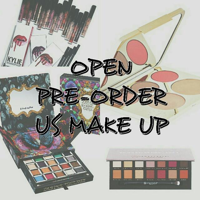 Open Pre Order US Make Up