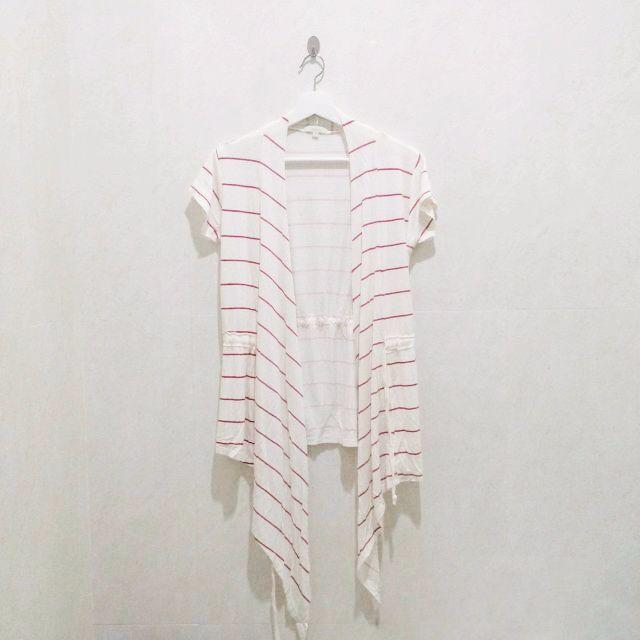 Outer garis garis pink