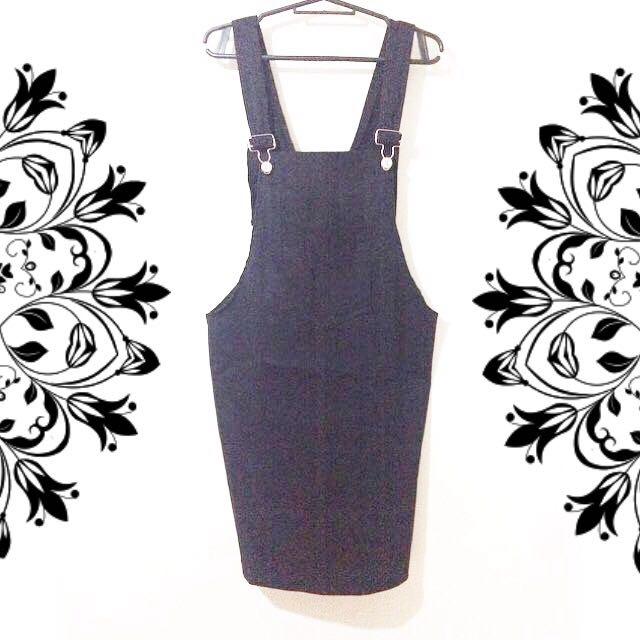 Overall Jumper Dress