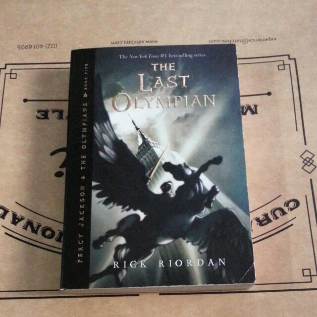Percy Jackson And The Olympians Book 5: The Last Olympian by Rick Riordan