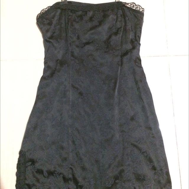 Preloved Black Sexy Dress