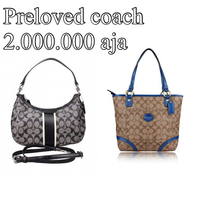 Preloved Coach 2jt