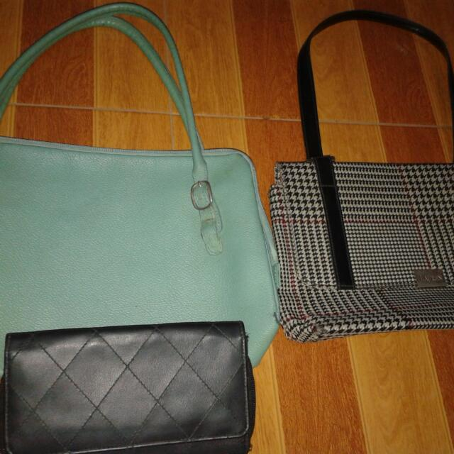 Ralph Lauren Bag And Our Tribe Bag (Authentic Both Bags)