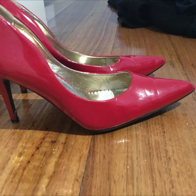 Red Pointed Heels 41 (10)