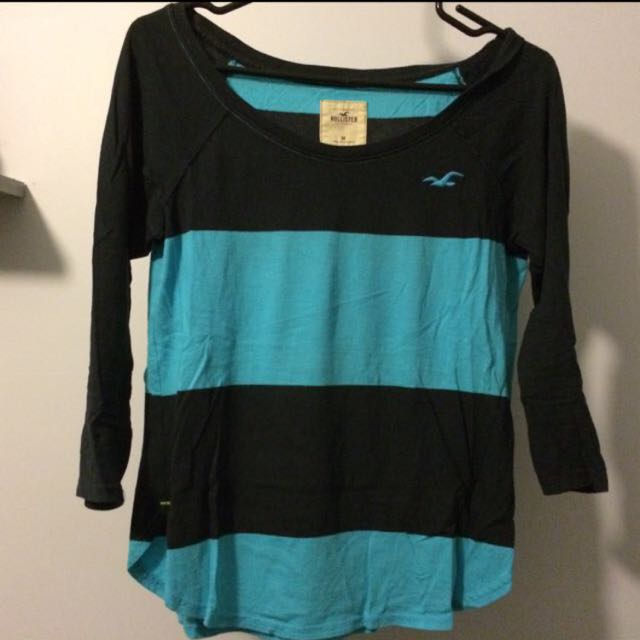 *Reduced* Hollister Striped Shirt