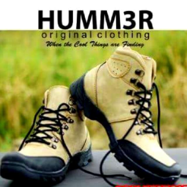Sepatu Hummer Boots Sepatu Gunung Sepatu Kulit Sepatu Fashion Pria ... cf03d9384c
