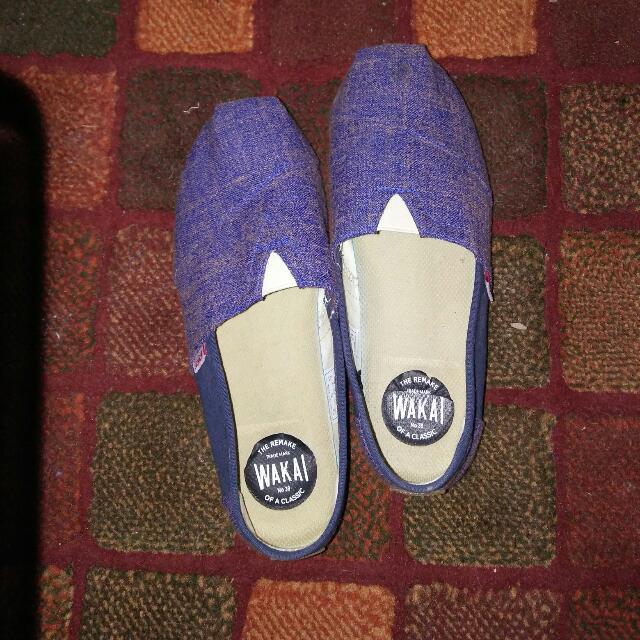 REPRICE!!!! Sepatu (Slip On) Wakai ORIGINAL