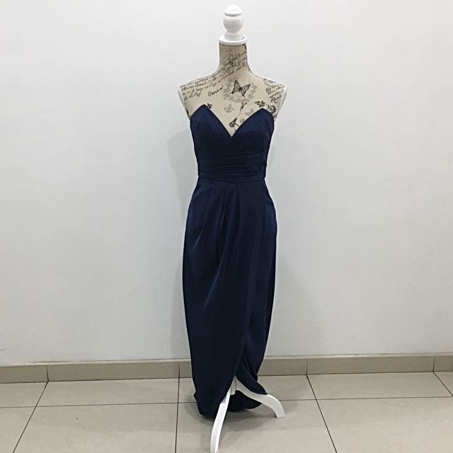 Sheike Navy Maxi Dress