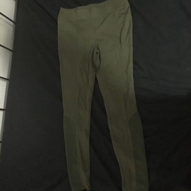 Size 14 Green Leggings