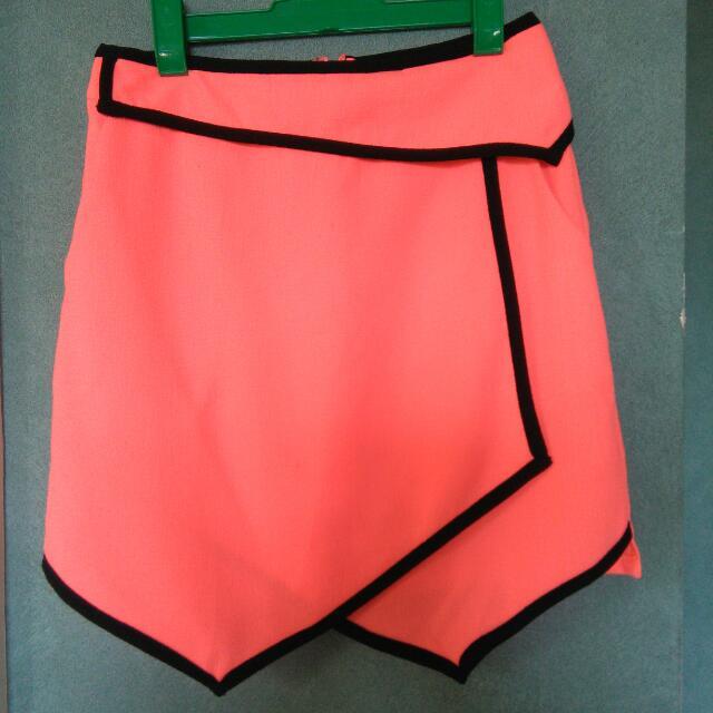 Size 8 Morning Mist Boutique Skirt