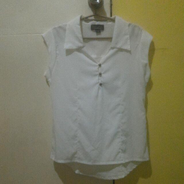 Taylor & Company White Blouse (Large)