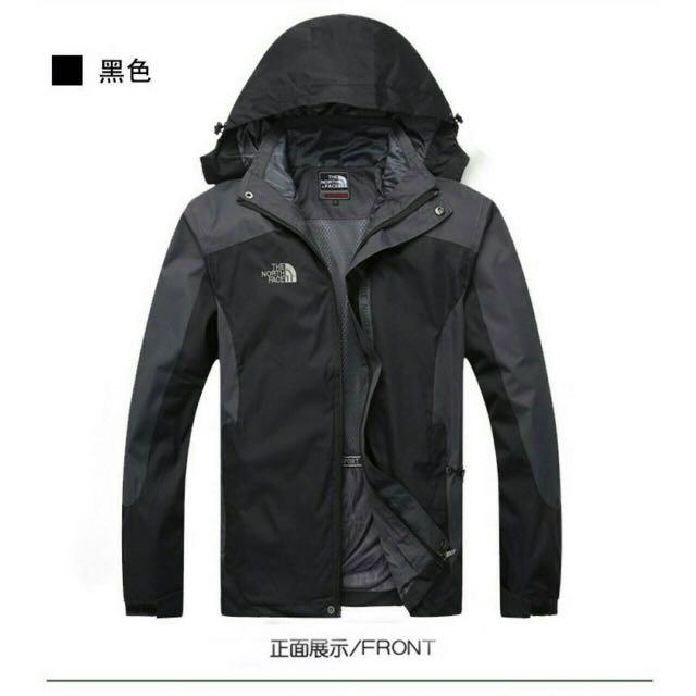 The North Face秋冬兩件式抓絨防風保暖外套