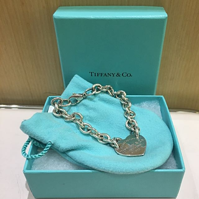 tiffany&Co 愛心手鍊
