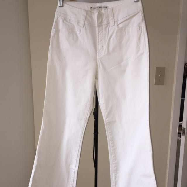 Tommy Hilfiger White Dress Work Pants Size 2
