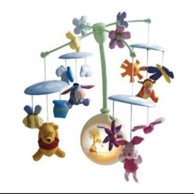 Tomy Winnie The Pooh Musical Mobile, Babies & Kids, Toys & Walkers ...