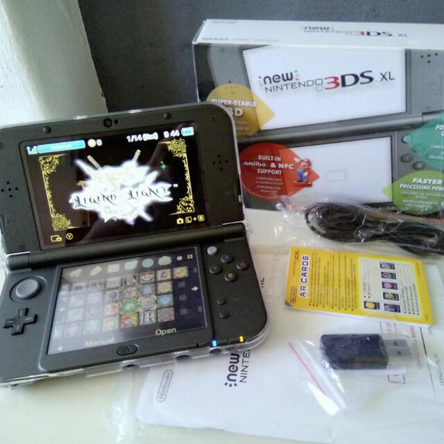 Top IPS* A9LH Modded 3DS XL (Local US Set) *RESERVED* on Carousell