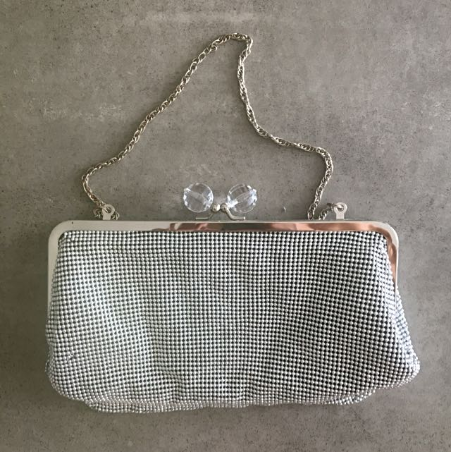 Urban Originals Silver Clutch